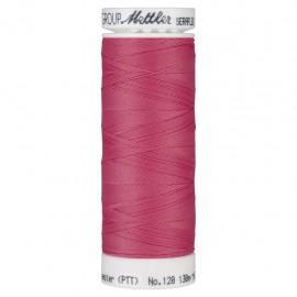 Bobine de fil élastique Mettler Seraflex 130m - N°1429 - rose bonbon