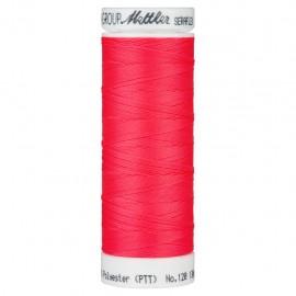Bobine de fil élastique Mettler Seraflex 130m - N°8775 - rose fluo
