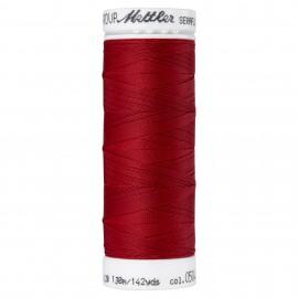 Bobine de fil élastique Mettler Seraflex 130m - N°504 - rouge carmin
