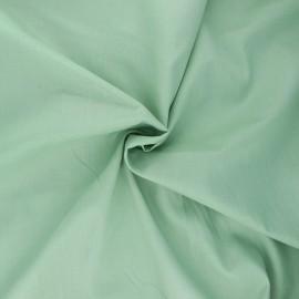 Tissu voile de coton - vert sauge x 10cm