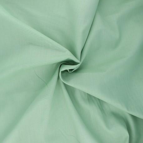 Tissu voile de coton Vert sauge x 10cm