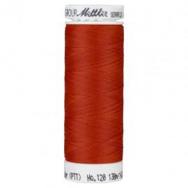 Bobine de fil élastique Mettler Seraflex 130m - N°1336 - rouge vermillon