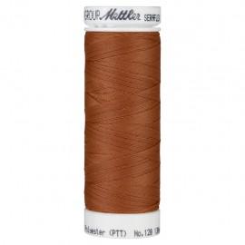 Elastic thread bobbin Mettler Seraflex 130m - N°1054 - rust