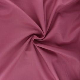 Tissu voile de coton - bois de rose x 10cm
