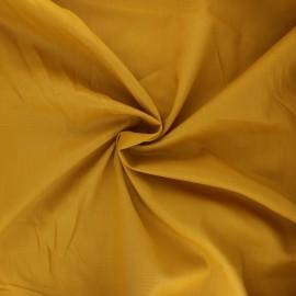 Tissu voile de coton - curcuma x 10cm