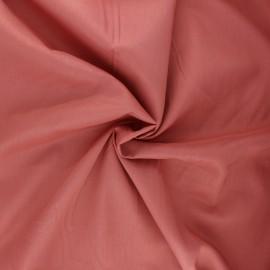Tissu voile de coton - rose thé x 10cm