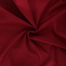 Cotton voile fabric - burgundy x 10cm