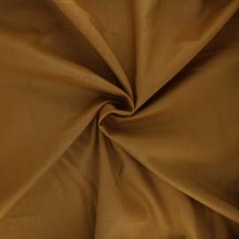 Tissu voile de coton - jaune curry x 10cm