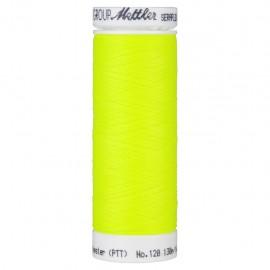 Bobine de fil élastique Mettler Seraflex 130m - N°1426 - jaune fluo