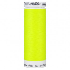 Elastic thread bobbin Mettler Seraflex 130m - N°1426 - neon yellow