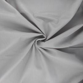 Tissu voile de coton - gris clair x 10cm