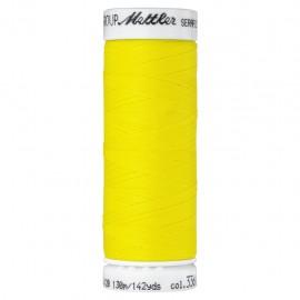Elastic thread bobbin Mettler Seraflex 130m - N°1426 - lemon yellow