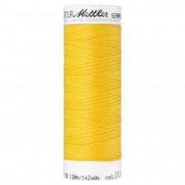 Elastic thread bobbin Mettler Seraflex 130m - N°1426 - summersun yellow