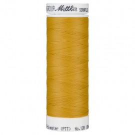 Bobine de fil élastique Mettler Seraflex 130m - N°892 - jaune moutarde