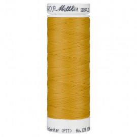 Elastic thread bobbin Mettler Seraflex 130m - N°892 - mustard yellow
