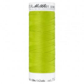 Bobine de fil élastique Mettler Seraflex 130m - N°1147 - vert mousse