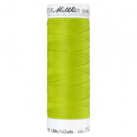 Elastic thread bobbin Mettler Seraflex 130m - N°1147 - moss green