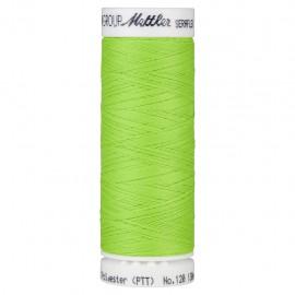 Bobine de fil élastique Mettler Seraflex 130m - N°70279 - vert vif