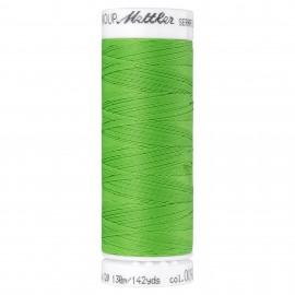 Elastic thread bobbin Mettler Seraflex 130m - N°92 - green