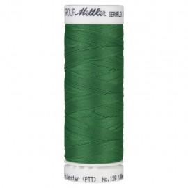 Bobine de fil élastique Mettler Seraflex 130m - N°247 - vert prairie