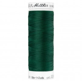 Bobine de fil élastique Mettler Seraflex 130m - N°216 - vert forêt