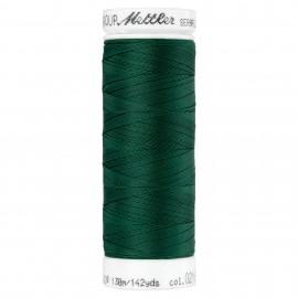 Elastic thread bobbin Mettler Seraflex 130m - N°216 - forest green