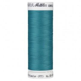 Bobine de fil élastique Mettler Seraflex 130m - N°232 - bleu lagon