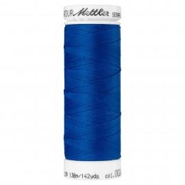 Elastic thread bobbin Mettler Seraflex 130m - N°24 - blue
