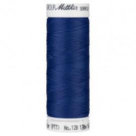 Elastic thread bobbin Mettler Seraflex 130m - N°1303 - electric blue
