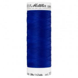 Bobine de fil élastique Mettler Seraflex 130m - N°1078 - bleu roi