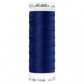 Elastic thread bobbin Mettler Seraflex 130m - N°825 - navy blue
