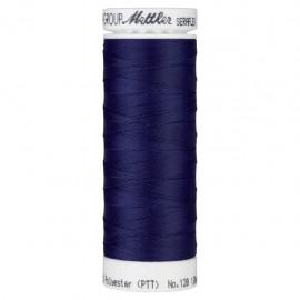 Elastic thread bobbin Mettler Seraflex 130m - N°1305 - ink blue