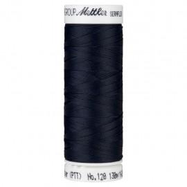Bobine de fil élastique Mettler Seraflex 130m - N°821 - bleu nuit