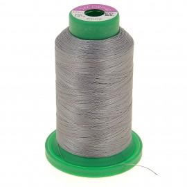 Cone of embroidery thread ISACORD40 1000m - medium grey