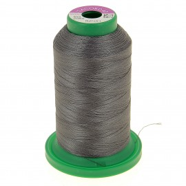 Cone of embroidery thread ISACORD40 1000m - military grey