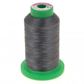 Cone of embroidery thread ISACORD40 1000m - chinchilla grey