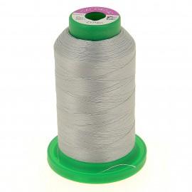 Cône de fil à broder ISACORD40 1000 m - gris clair