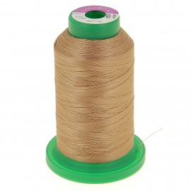 Cone of embroidery thread ISACORD40 1000m - golden brown