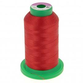 Cône de fil à broder ISACORD40 1000 m - rouge passion