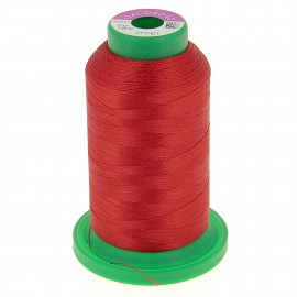 Cone of embroidery thread ISACORD40 1000m - passion red