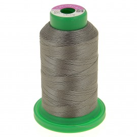 Cone of embroidery thread ISACORD40 1000m - anthracite grey