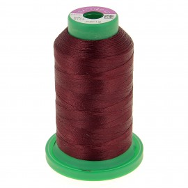 Cone of embroidery thread ISACORD40 1000m - burgundy
