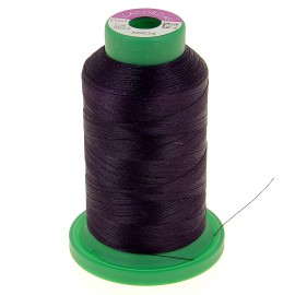 Cone of embroidery thread ISACORD40 1000m - eggplant