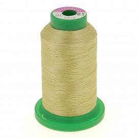 Cône de fil 100% polyester 1000 m or clair