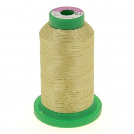 Cone of embroidery thread ISACORD40 1000m - light gold