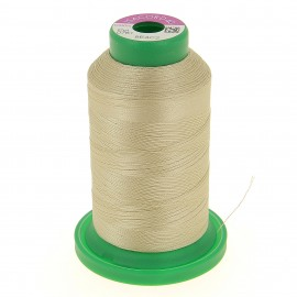 Cone of embroidery thread ISACORD40 1000m - beige