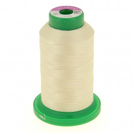 Cone of embroidery thread ISACORD40 1000m - ecru