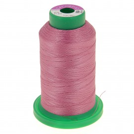 Cone of embroidery thread ISACORD40 1000m - old pink
