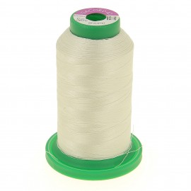 Cone of embroidery thread ISACORD40 1000m - white smoke