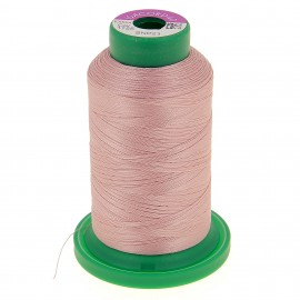 Cone of embroidery thread ISACORD40 1000m - powder pink